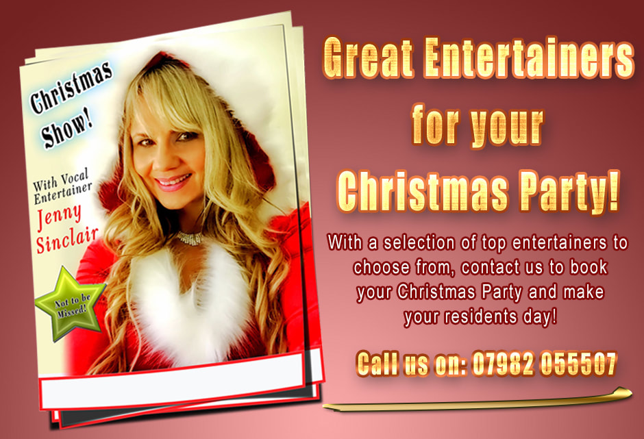Book your Christmas Party with Care Home Entertainers UK